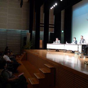 庭が日本の未来を拓く、講演の様子