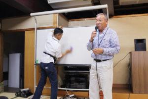 直島1日目大北さん講義