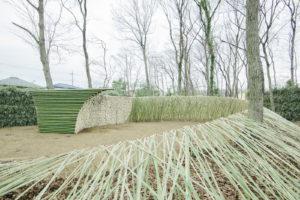 竹のフォリー(北本 春の森めぐり2016)